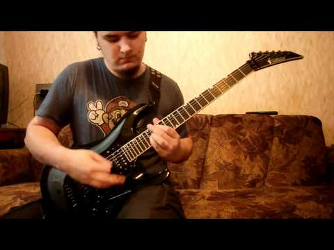 Fleshgod Apocalypse - The Violation (guitar cover).avi
