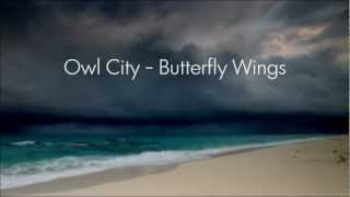 Watch Owl City Butterfly Wings video