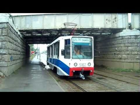 Moscow Trams (trams on routes