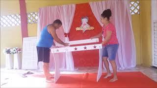 Como montar uma decoração