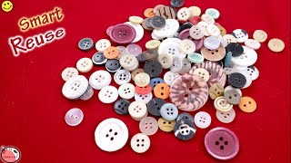 Waste Button Craft Idea || DIY Easy Room Decor 2018 || How to Make Wall Hanging at Home