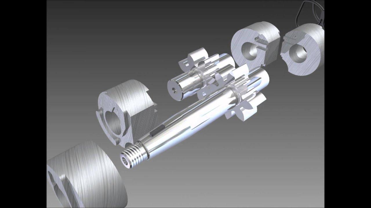 Gear Pump Assembly Hydraulic Gear Pump Inventor