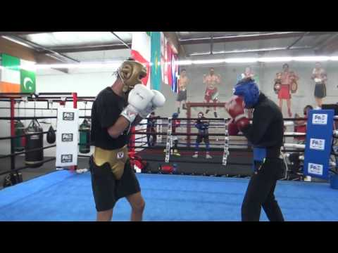 robert garcia boxing academy sparring - MAD MAX vs DDD Boxing