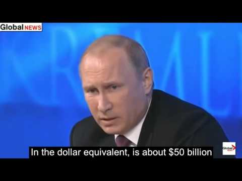 Putin POLITELY responded to BBC reporter on ISIS and US geopolitics
