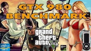 GTX 980 Vs GTX 950 GTA V BENCHMARK TEST