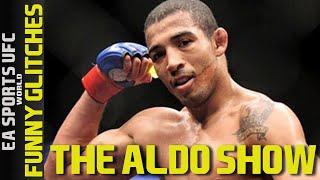 EA SPORTS UFC Online Funny Aldo Show - One Fight Jose Lost It (Funny Glitches)
