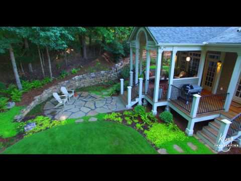 King Landscaping Drone Project Video 2
