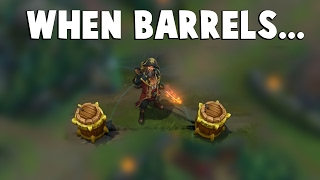 When BARREL COMBOS Are So Perfect... | Funny LoL Series #70