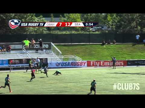2014 Club 7s Men's National Championship - Seattle OPSB Rugby vs Old Blue of New York