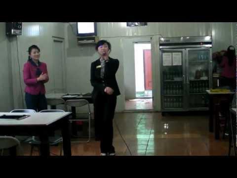 0 North Korean BBQ Restaurant Karaoke and Accordions Pyongyang April 2012