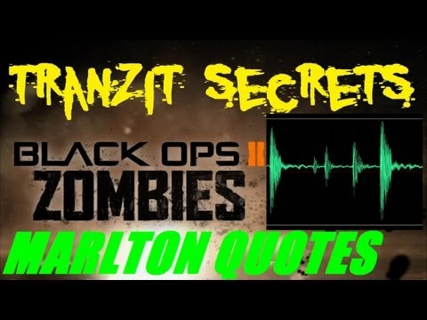 Tranzit Zombies Secrets: Marlton Quotes Analysis and Discussion (Part 3)