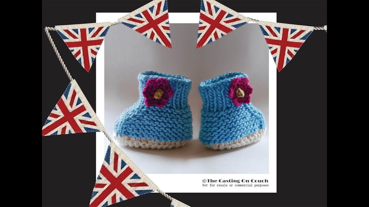 ROYAL BABY, ITS A BOY! - Booties Knitting Pattern Fit For ...