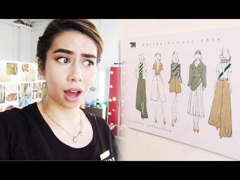 DEADLINE DAY!   Fashion Design at University Vlog #4