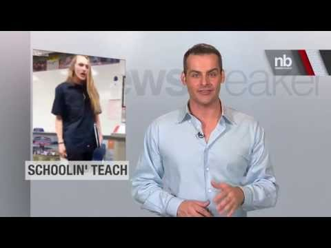 SCHOOLED: Student Goes Off on Teacher For Not Teaching Hard Enough | NewsBreaker | Ora TV