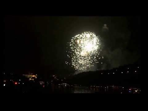 Новый Год в Праге. Prague New Year's Fireworks 2013-2014. Новогодний