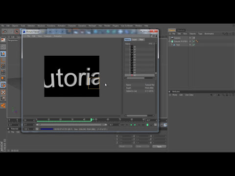 Cinema 4D Tutorial - Render projects as AVI Files