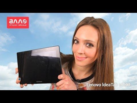 Видео обзор планшета lenovo s6000