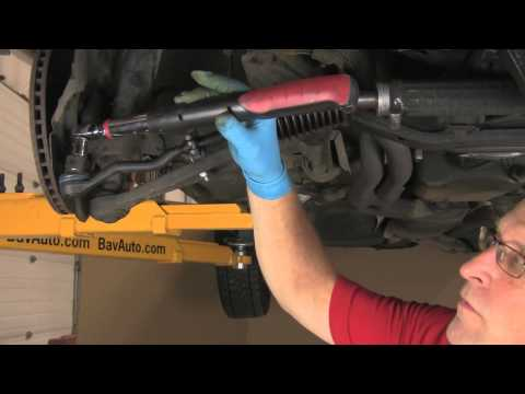 Part 2  Installing tie rods on a BMW with rack & pinion. E30. etc.
