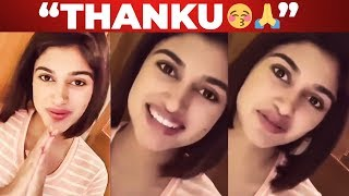 Thank You So Much For Still Loving Me!! – Oviya's Latest Statement
