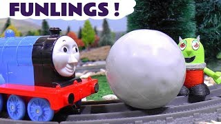 Funny Funlings fun toy stories with Thomas and Friends Trains and Cars McQueen TT4U