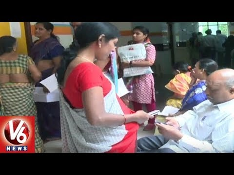 Patients Face Problems As Private Hospitals In Telangana Halts EHS Services | V6 News