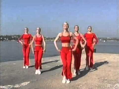 Уроки танцевальной аэробики - видео
