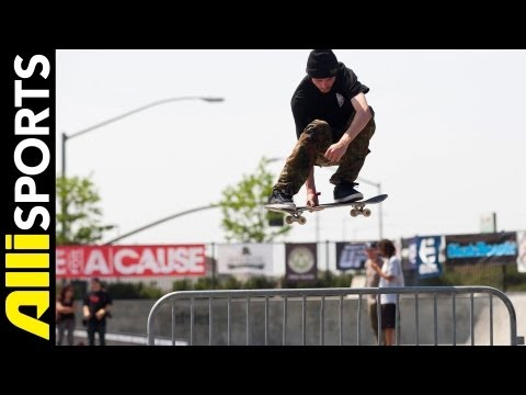 Ryan Sheckler's 4th Annual SKATE FOR A CAUSE 2013, Alli Sports Best Of