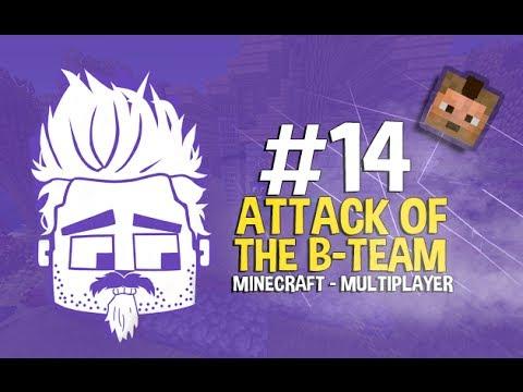 ماين كرافت: اتاك اوف ذا بي تيم - Minecraft: Attack of the B-team - #14 - لقيت بيت محمد
