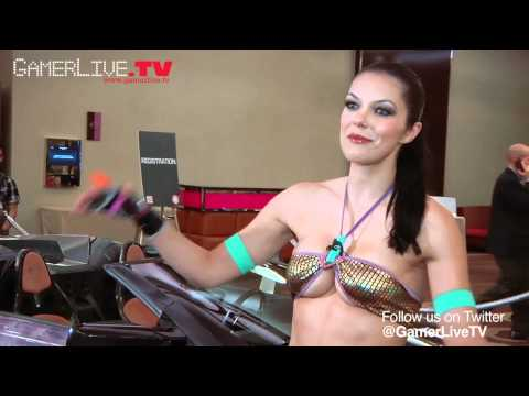 Bikini Clad Adrianne Curry Discusses Her Love of Cosplay and TEKKEN at Namco Bandai Game Event