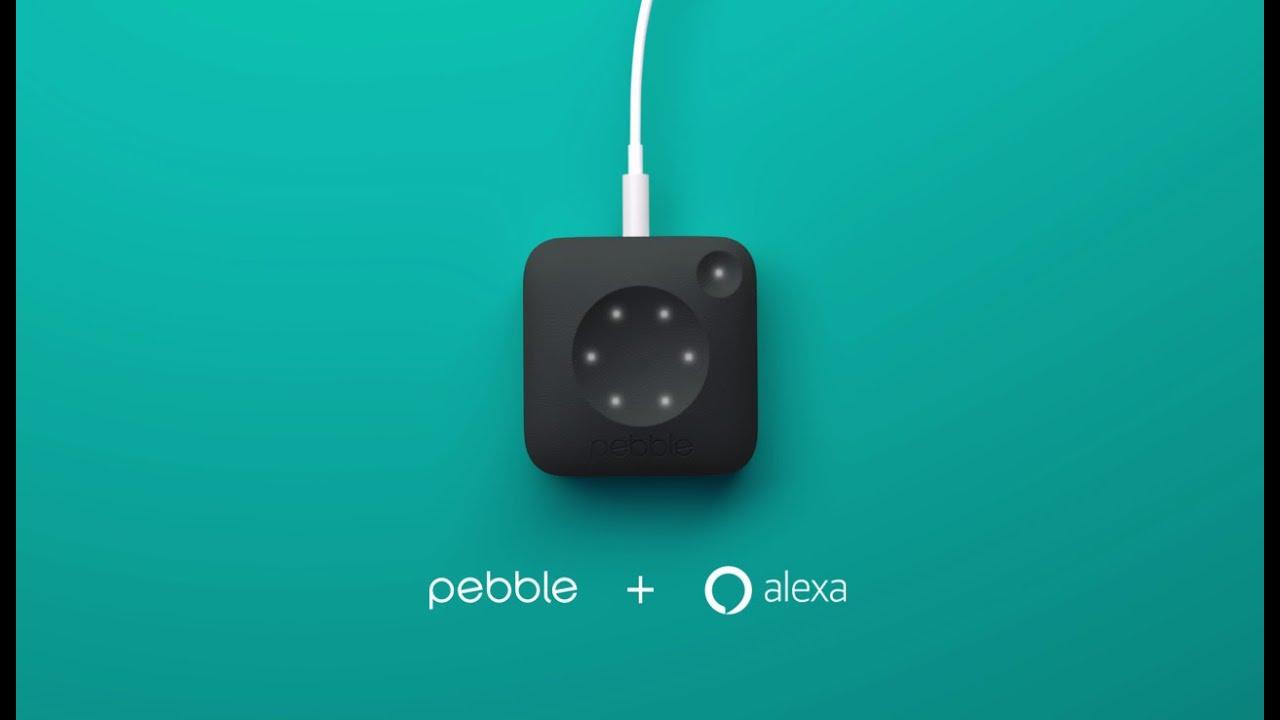 Amazon Alexa + Pebble Core: Now We're Talking
