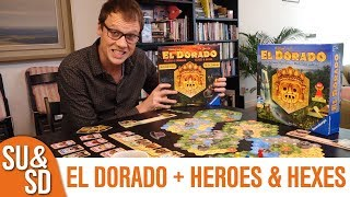 El Dorado and Heroes & Hexes expansion - Shut Up & Sit Down Review