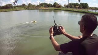 sergio nautimodelismo teste turbo jet rc lagoa trevisam