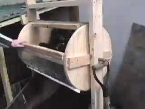 Compost sieve - rotary
