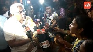 TJAC Chairman Kodandaram Supports Sangeetha's Protest And Demands for Justice