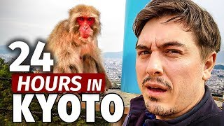 12 Hours in Kyoto | Face to Face with Monkeys & Monsters