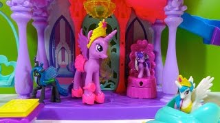 My Little Pony Castillo Mágico del Arcoíris Edición Especial de Princess Twilight Sparkle
