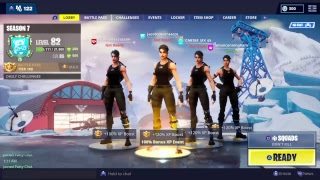 Playing Fortnite sqauds with KrYpT clan members:plasma,cosmic,And clapz #Nick EH 30 #TSM_Daequan
