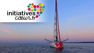 Première navigation du nouveau bateau Initiatives-Coeur