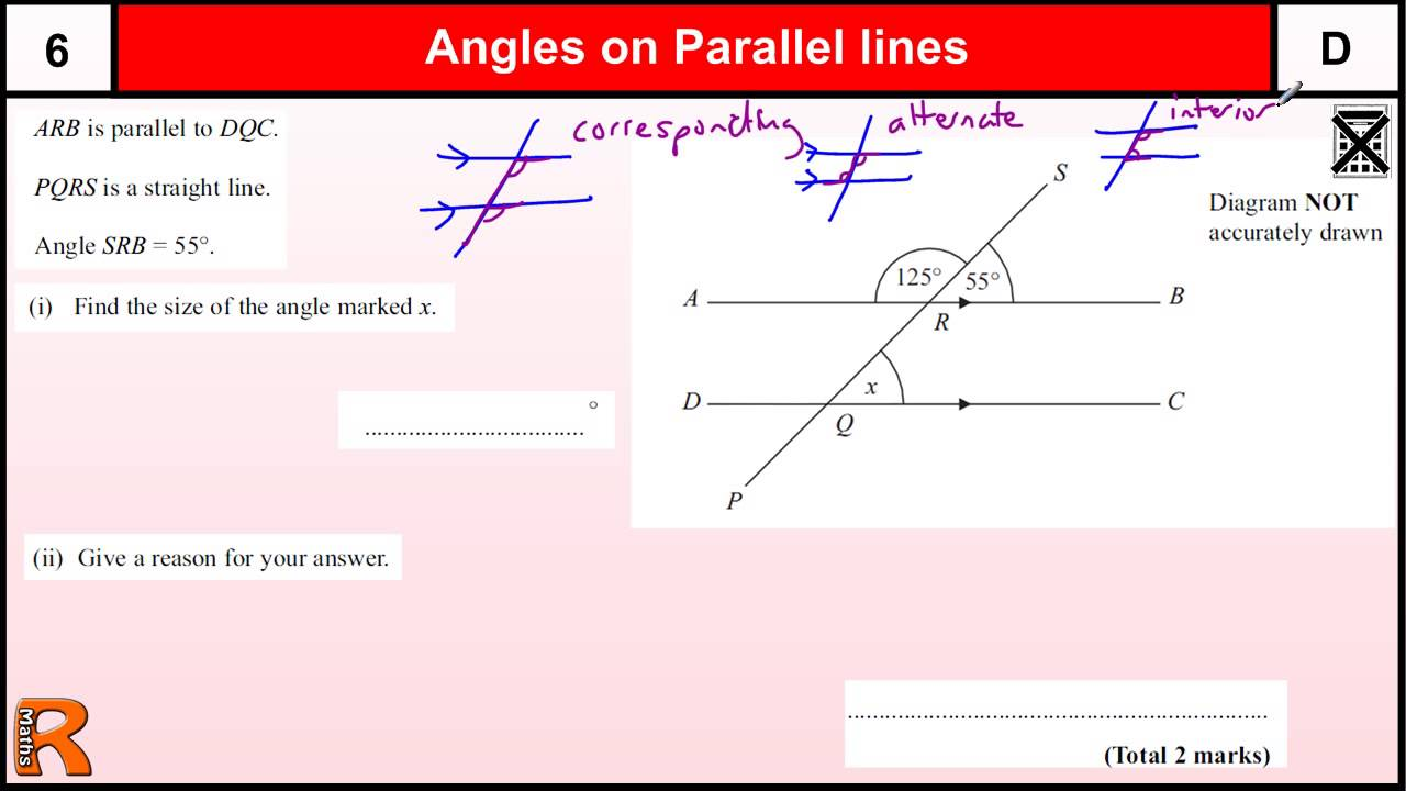 Parallel lines vector equations