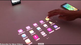 Lenovo Smart Cast: Laser Projection Smartphone Demo and Overview