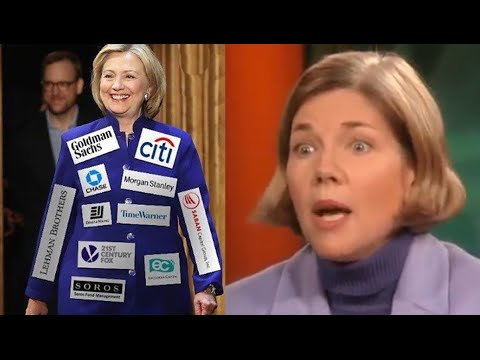 Elizabeth Warren Describes Hillary Clinton as a Donor Puppet (2004)