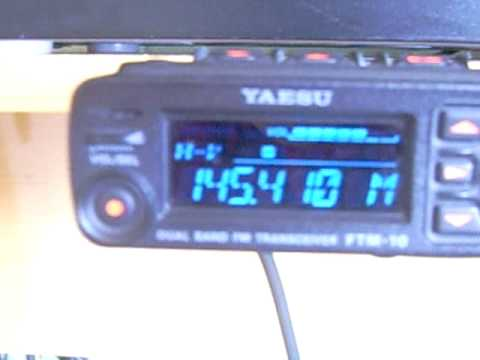 YAESU FTM 10R.AVI