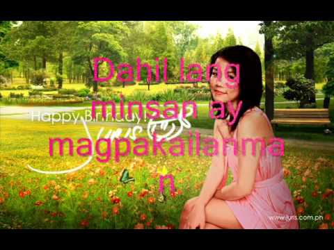 Minsan Lang Kita Iibigin - Juris (hq)  With Lyrics video