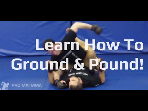 MMA 121 - Ground and Pound - MMA Ground Striking Concepts Image 1