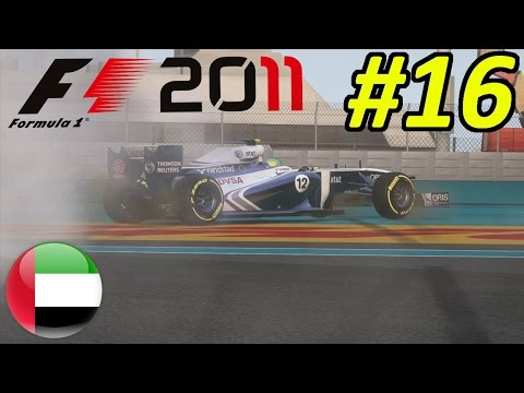F1 2011 Career Mode Part 16: IVE BEEN BLOWN UP