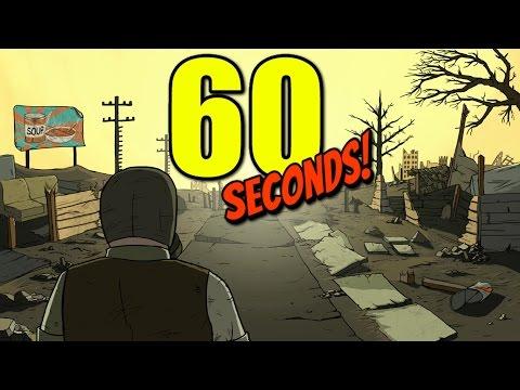 60 СЕКУНД ДО АПОКАЛИПСИСА! - Все сошли с ума! - 60 Seconds