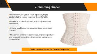 10 Best Waist trainer Reviews for Women on Amazon 2017 2018