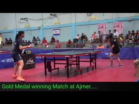 Gold Medal winning Match at Ajmer.....