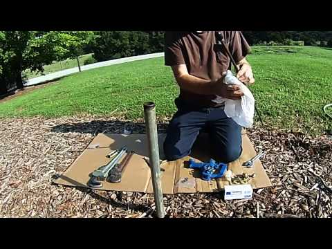 Simmons Frost-Proof Yard Hydrant- Repair Kit and Plunger Replacement