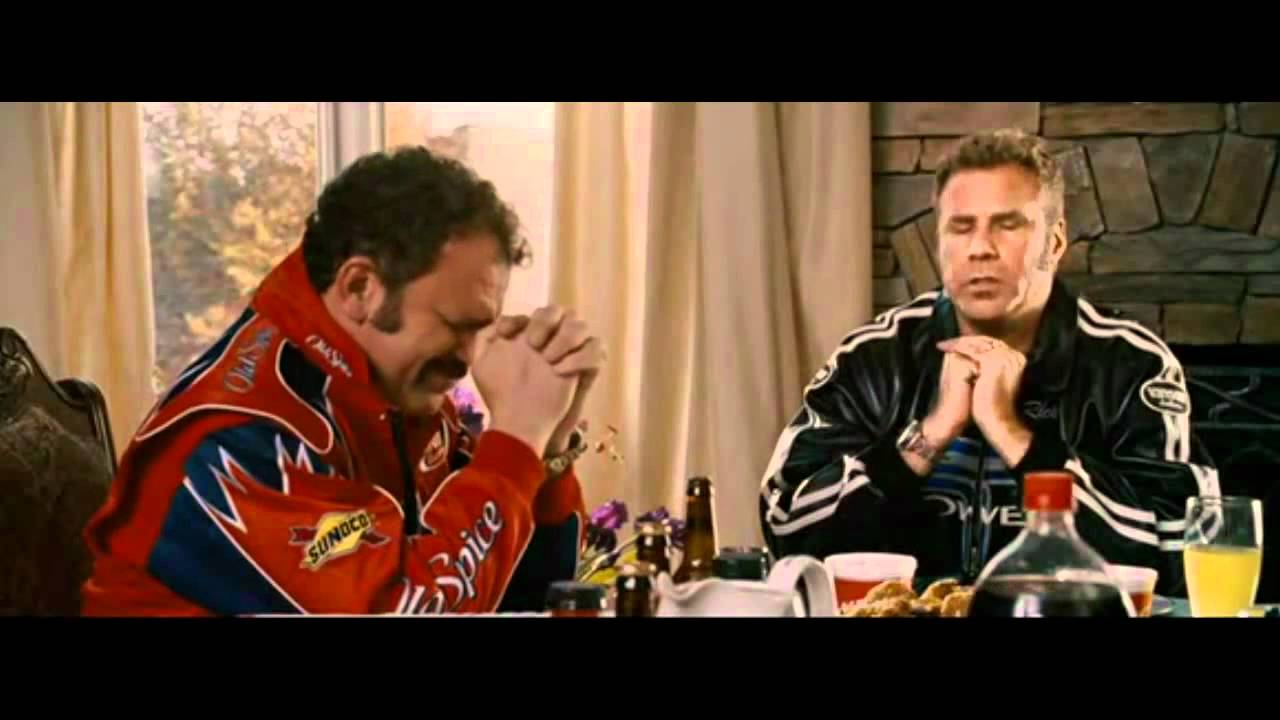 talladega nights baby jesus prayer youtube. Black Bedroom Furniture Sets. Home Design Ideas